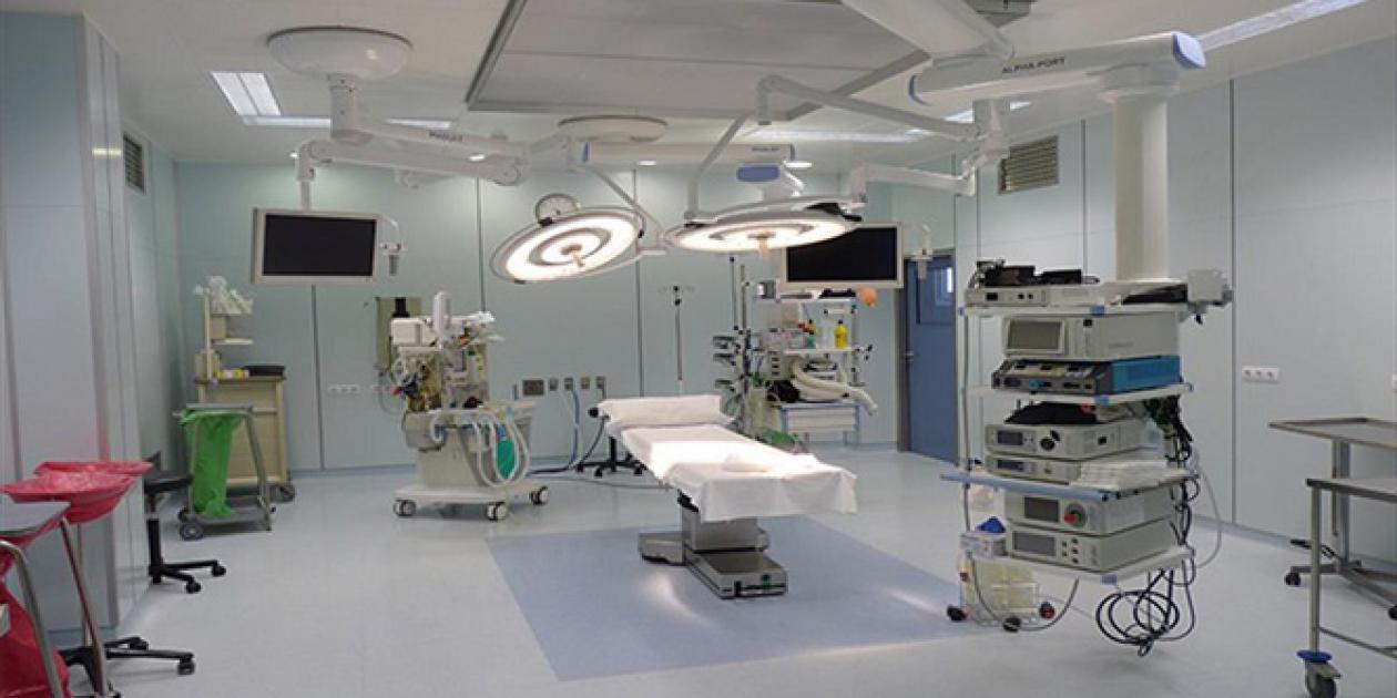 Sala de hemodinámica y adecuación del bloque quirúrgico del Hospital Costal del Sol