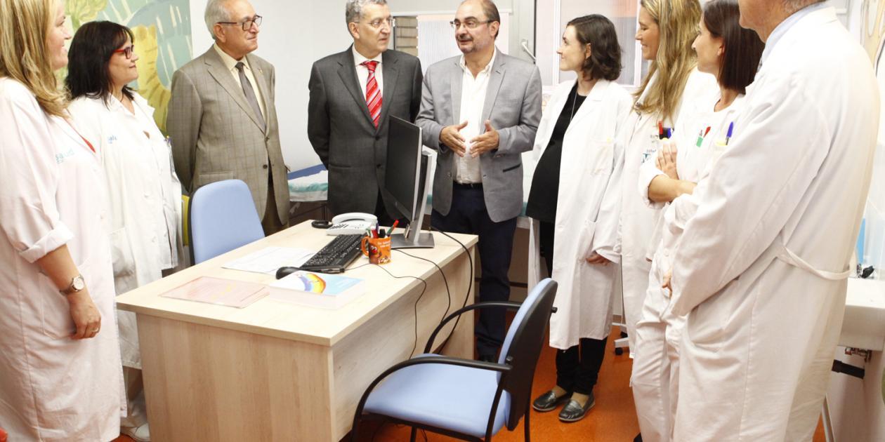 Nueva unidad de Cuidados Paliativos Pediátricos en el Hospital Infantil de Zaragoza