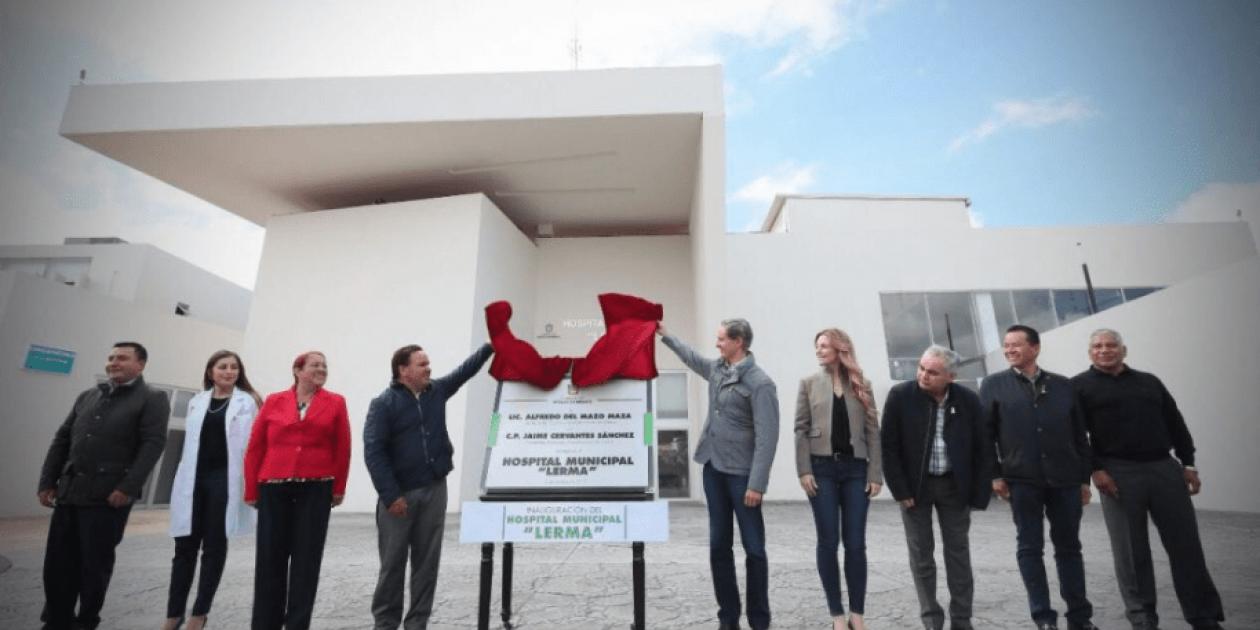Inauguración del Hospital Municipal de Lerma