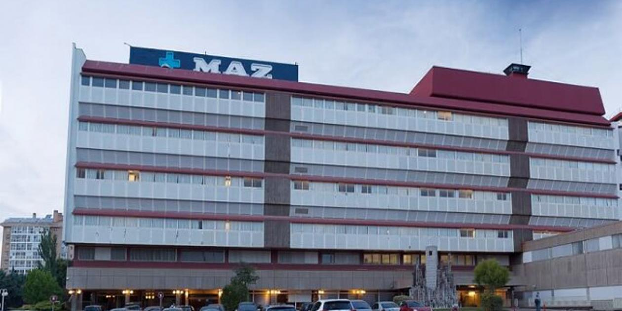 Redacción del proyecto básico, proyecto de ejecución y la ejecución de la obradel Hospital de MAZ en Zaragoza
