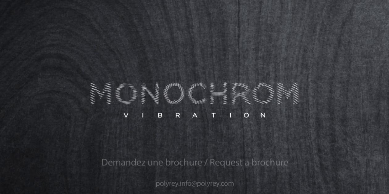 POLYREY - MONOCHROM VIBRATION, laminado y compacto HPL teñido en masa