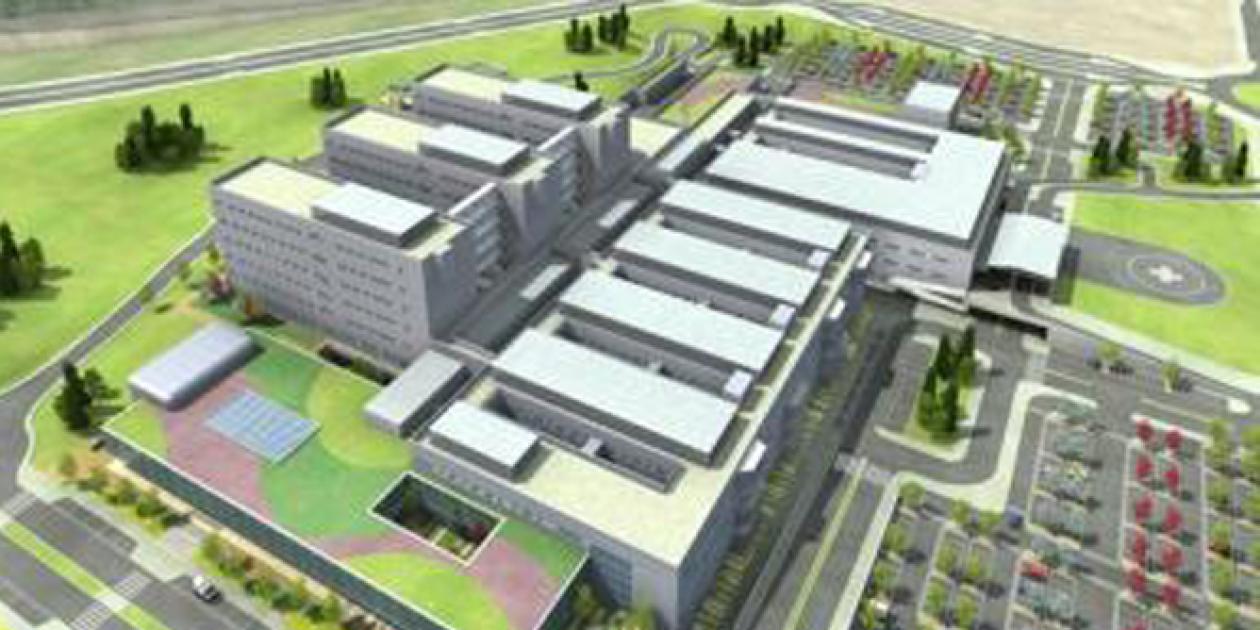 Las obras del Hospital Universitario de Cuenca avanzan
