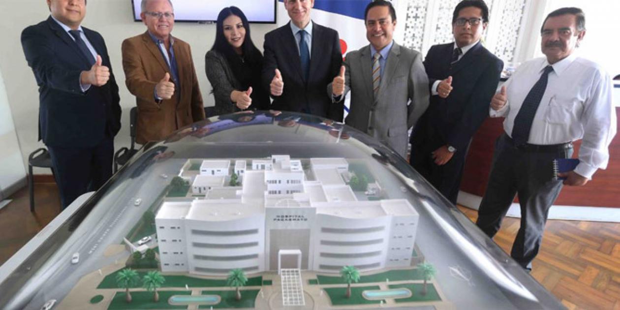 Nuevo construcción de un hospital en Pacasmayo