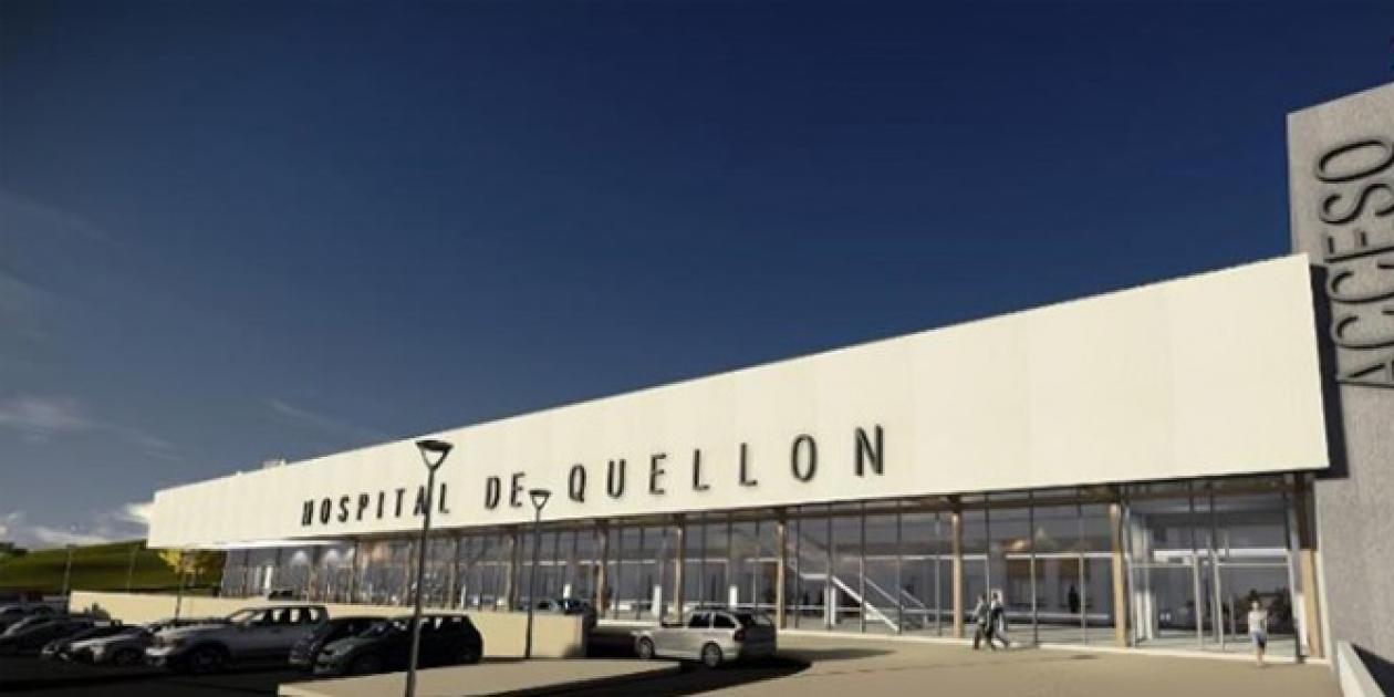 Construcción del nuevo hospital de Quellón