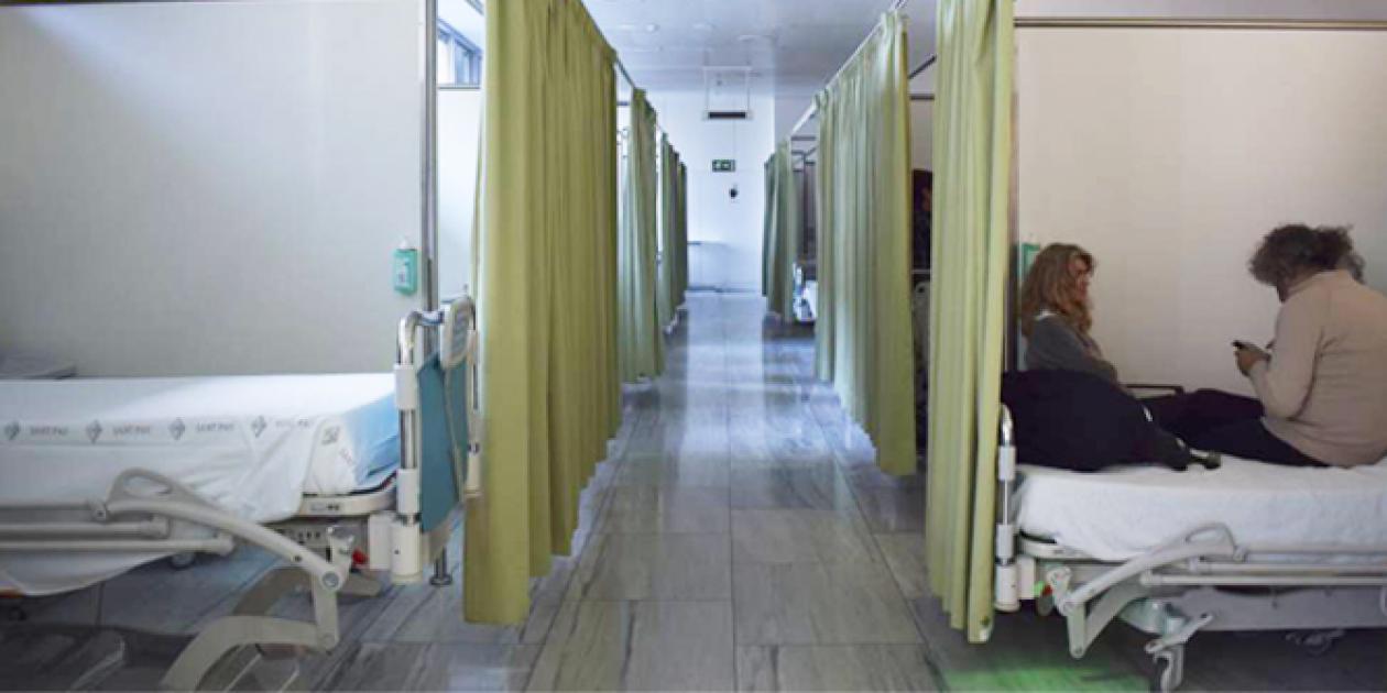 Sant Pau estrena una unidad de urgencias para pacientes frágiles