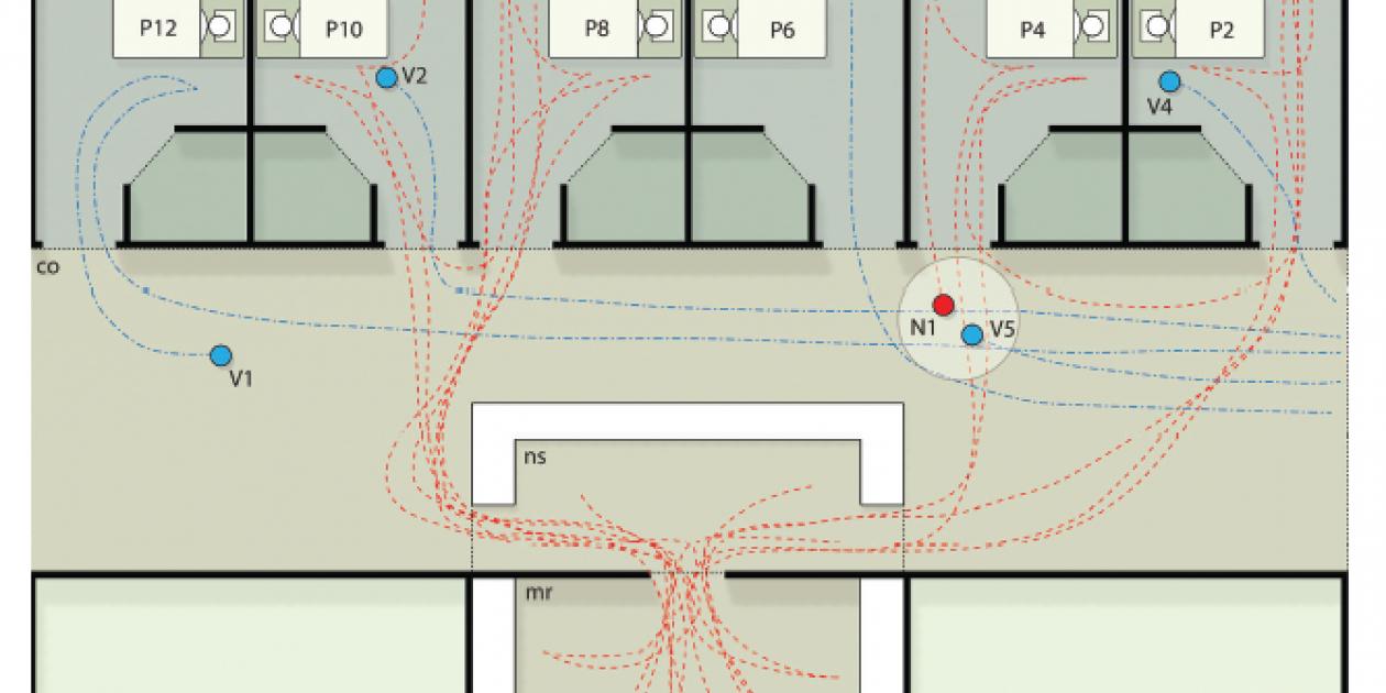 Estudio de la simulación del comportamiento humano en el diseño arquitectónico de instalaciones sanitarias