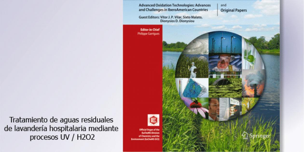 Tratamiento de aguas residuales de lavandería hospitalaria mediante proceso UV / H2O2
