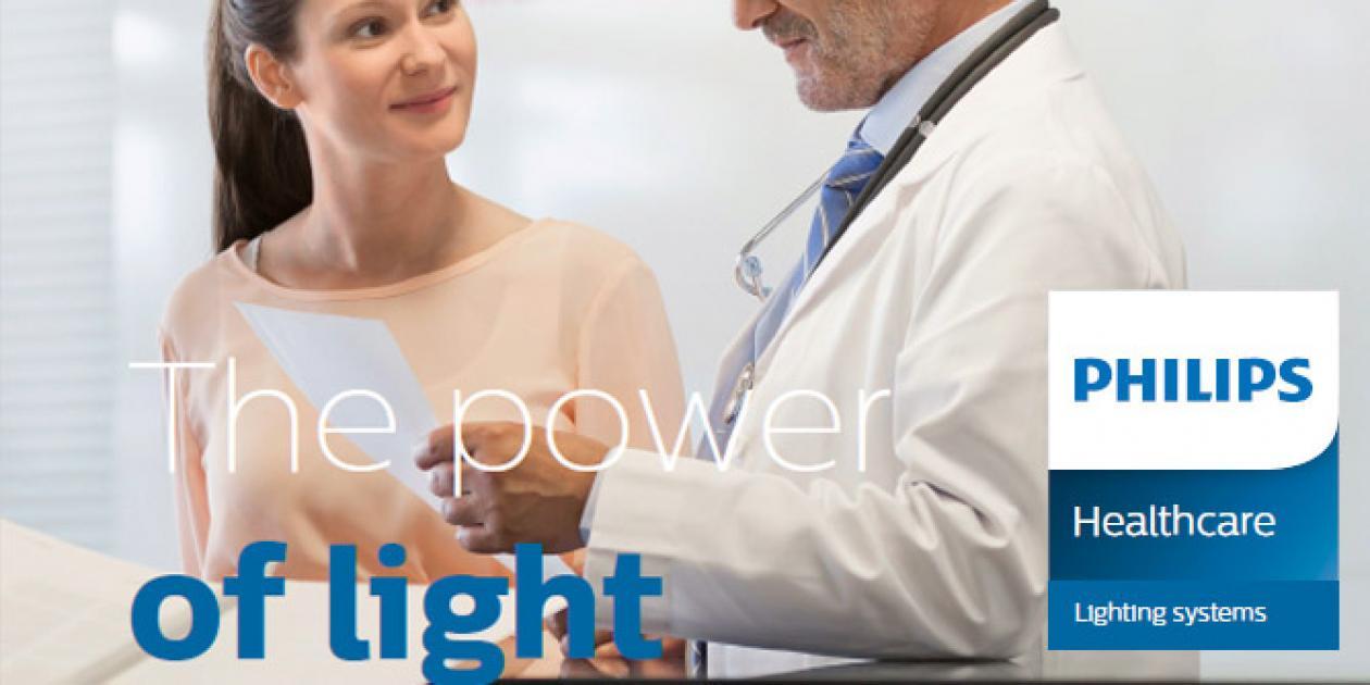 El poder de la luz. Cómo la iluminación puede incidir y transformar los entornos sanitarios