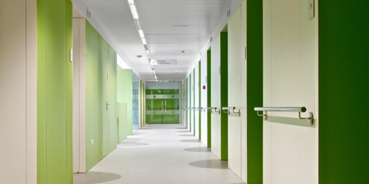 Reforma unidad hospitalización PGO del hospital general de Vic