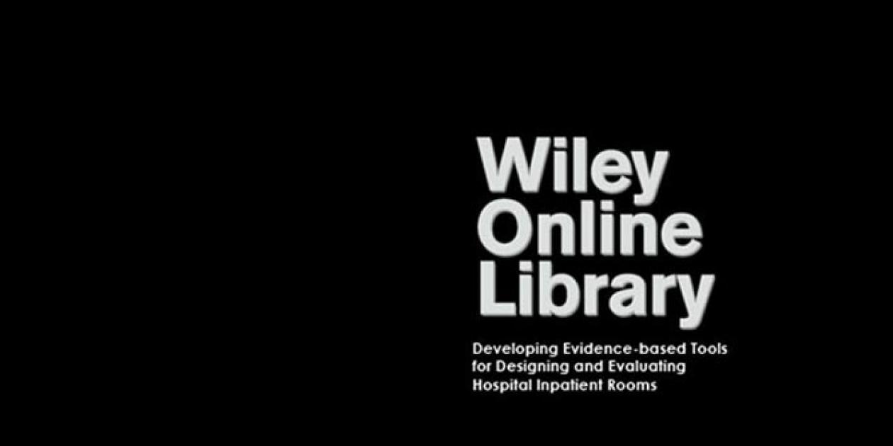 Herramientas para el diseño y la evaluación de las salas de hospitalización